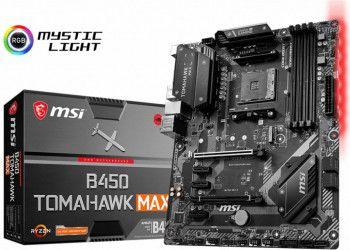 Placa de baza MSI B450 TOMAHAWK MAX Socket AM4