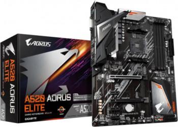 Placa de baza GIGABYTE A520 Aorus Elite AM4 DDR4 2xM.2 4xSATA HDMI ATX MB