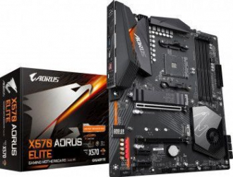 Placa de baza Gigabyte X570 AORUS ELITE Socket AM4