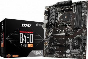 Placa de baza MSI B450-A PRO MAX Socket AM4