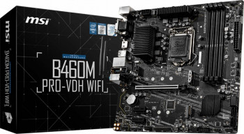 Placa de baza MSI B460M PRO-VDH WIFI Socket 1200
