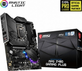 Placa de baza MSI MPG Z490 GAMING PLUS Socket 1200