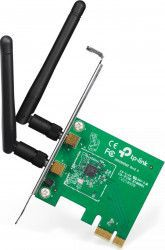 Placa Retea TP-Link TL-WN881ND PCI Express Wireless N Antene Omnirectionale Detasabile RP-SMA 2dBi Mod Wireless Ad-Hoc