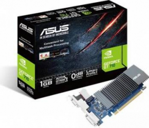 Placa video ASUS GeForce GT 710 1GB GDDR5 32-bit Placi video