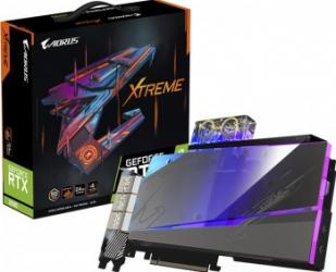 Placa video GIGABYTE AORUS GeForce RTX 3090 XTREME WATERFORCE WB 24GB GDDR6X 384-bit