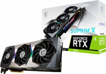 Placa video MSI GeForce RTX 3070 SUPRIM X 8GB GDDR6 256-bit LHR