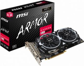 Placa video MSI Radeon RX 580 Armor OC 8GB GDDR5 256bit Placi video