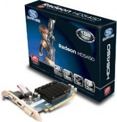 Placa Video Sapphire Radeon HD5450 512MB DDR3 64bit PCIe LP Refurbished Placi video