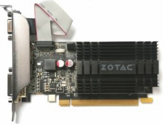 Placa video Zotac GeForce GT 710 1GB DDR3 64Bit Low Profile Placi video