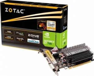 Placa video Zotac GeForce GT 730 Zone Edition 2GB DDR3 64Bit Placi video
