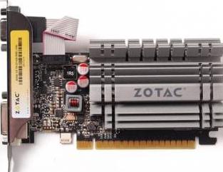 Placa video Zotac GeForce GT 730 Zone Edition 4GB DDR3 64bit Low Profile Placi video