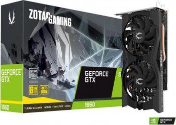 Placa video Zotac GeForce GTX 1660 Twin Fan 6GB GDDR5 192-bit Resigilat