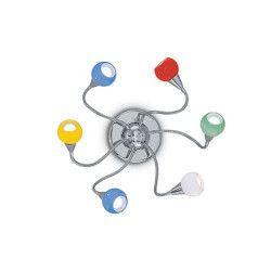 Plafoniera TENDER 006550 Ideal Lux multicolor 6 x 40W E14 Corpuri de iluminat