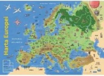 Plansa Harta Europei Harti