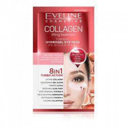 Plasturi hidrogel pentru ochi Eveline Collagen 8in1 Masti, exfoliant, tonice