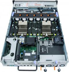 Server Dell PowerEdge R720 2 x Deca Core Xeon E5-2660 v2 2.2GHz - 2.9GHz 32GB DDR3 ECC 8x3.5 HDD BAY NO HDD RAID Perc H710 2x750W PSU