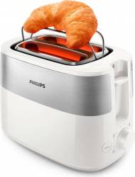 Prajitor de paine Philips Daily Collection HD251600 2 felii 830W Alb Prajitoare