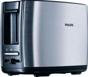 Prajitor de paine Philips HD2628 950W 2 felii Inox Prajitoare
