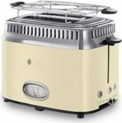 Prajitor de paine Russell Hobbs 21682-56 1200W 2 felii 6 Nivele de putere Crem Prajitoare