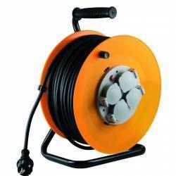 Prelungitor rola tambur 4 prize 50 m 3 x 1 5 mm2 IP44v