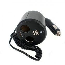 Priza dubla USB Alpin 830034 2 x Bricheta cu tester baterie Scule auto and Accesorii
