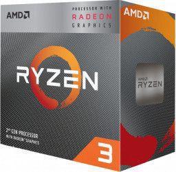 Procesor AMD Ryzen 3 3200G 3.6GHz Socket AM4 + Wraith Stealth Box Resigilat