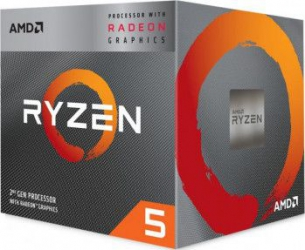 Procesor AMD Ryzen 5 3400G 3.7GHz Socket AM4 Cooler Wraith Spire Resigilat