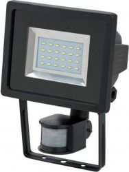 Proiector LED cu senzor PIR Brennenstuhl 12.5W 950 lm 6500K IP44 Negru Corpuri de iluminat