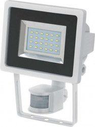 Proiector LED cu senzor PIR Brennenstuhl 12.5W 950 lm 6500K IP44 Alb Corpuri de iluminat