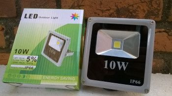 Proiector LED SMD 10W Economic Slim 6500K Lumina Rece Corpuri de iluminat