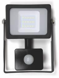 Proiector cu LED SMD cu senzor 10W 800lm IP65 4000K Well Corpuri de iluminat
