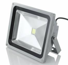Proiector LED SMD 50W Economic 6500K Lumina Rece 220V de Interior si Exterior Rezistent la Apa IP65 Iluminare pt Casa Corpuri de iluminat