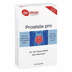 Prostata Pro 40cps Dr. Wolz