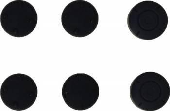 Protectie silicon butoane pentru controller Joy-con Nintendo Switch, negru