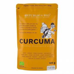 Pulbere de Curcuma Ecologica Vegana 100gr Republica Bio