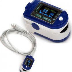 Puls-oximetru profesional CONTEC CMS-50D+ cu alarma pletismograma USB memorie puls 30-250 bpm SpO2 0-100 Pulsoximetre
