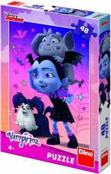 Puzzle Dino Toys Vampirina Ballerina 48 piese Multicolor Puzzle