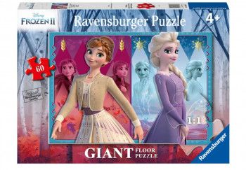 PUZZLE FROZEN II ELSA and ANNA 60 piese Puzzle