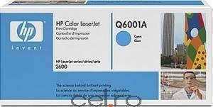 Toner HP Q6001A Cyan LaserJet 1600 2600 CM1015MFP series 2000pg. Cartuse Originale