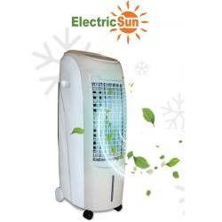 pret preturi Racitor de aer prin evaporare ElectricSun 80W portabil interior exterior air cooler 31x44x88cm