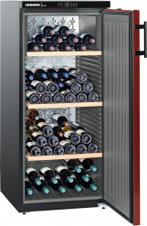Racitor vinuri Liebherr Vinothek WKr 3211 164 sticle 5 - 20 C Clasa E Negru Frigidere Combine Frigorifice