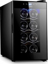 Racitor vinuri Samus SRV25CRA+ 8 sticle 8 - 18 C Negru Frigidere Combine Frigorifice