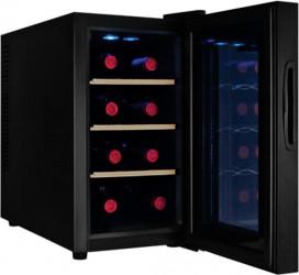 Racitor vinuri Samus SRV25LMA+ 8 sticle 8 - 18 C Negru Frigidere Combine Frigorifice