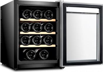 Racitor vinuri Samus SRV36LMA 12 sticle 10 - 18 C Negru Frigidere Combine Frigorifice