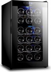 Racitor vinuri Samus SRV50CRC 18 sticle 8 - 18 C Negru Frigidere Combine Frigorifice