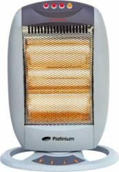 Radiator cu halogen Platinium 1200W model PRH-1200 Alb Aparate de incalzire