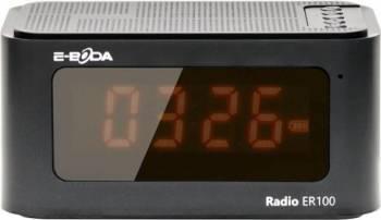 Radio cu ceas digital E-Boda ER100 Negru