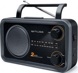 Radio portabil Muse M-06 DS FM-MW Negru