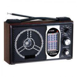 Radio portabil Rotosonic LT-2008 11 benzi Ceasuri si Radio cu ceas