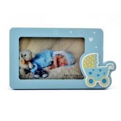 Rama decorativa Baby on Tour din lemn format 15x10